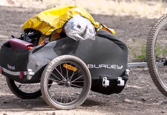 remorque vélo cargo burley nomad