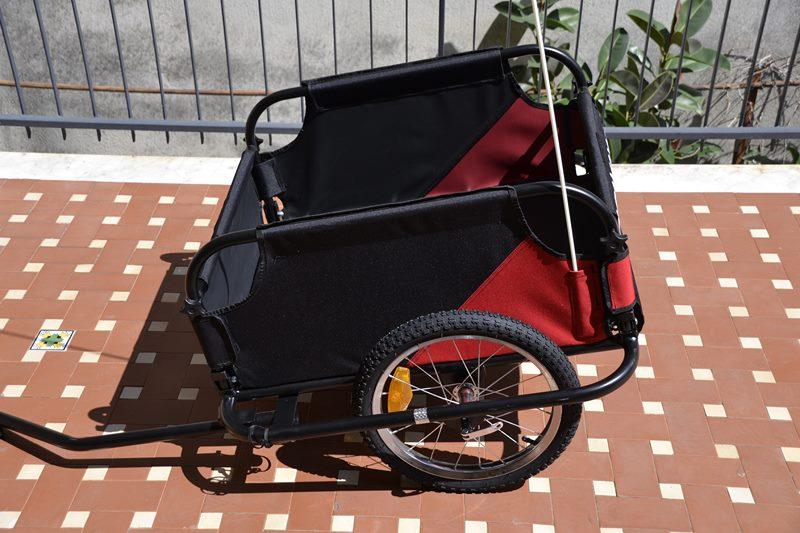 remorque vélo cargo duramaxx mountee