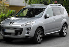 Peugeot 4007 4X4